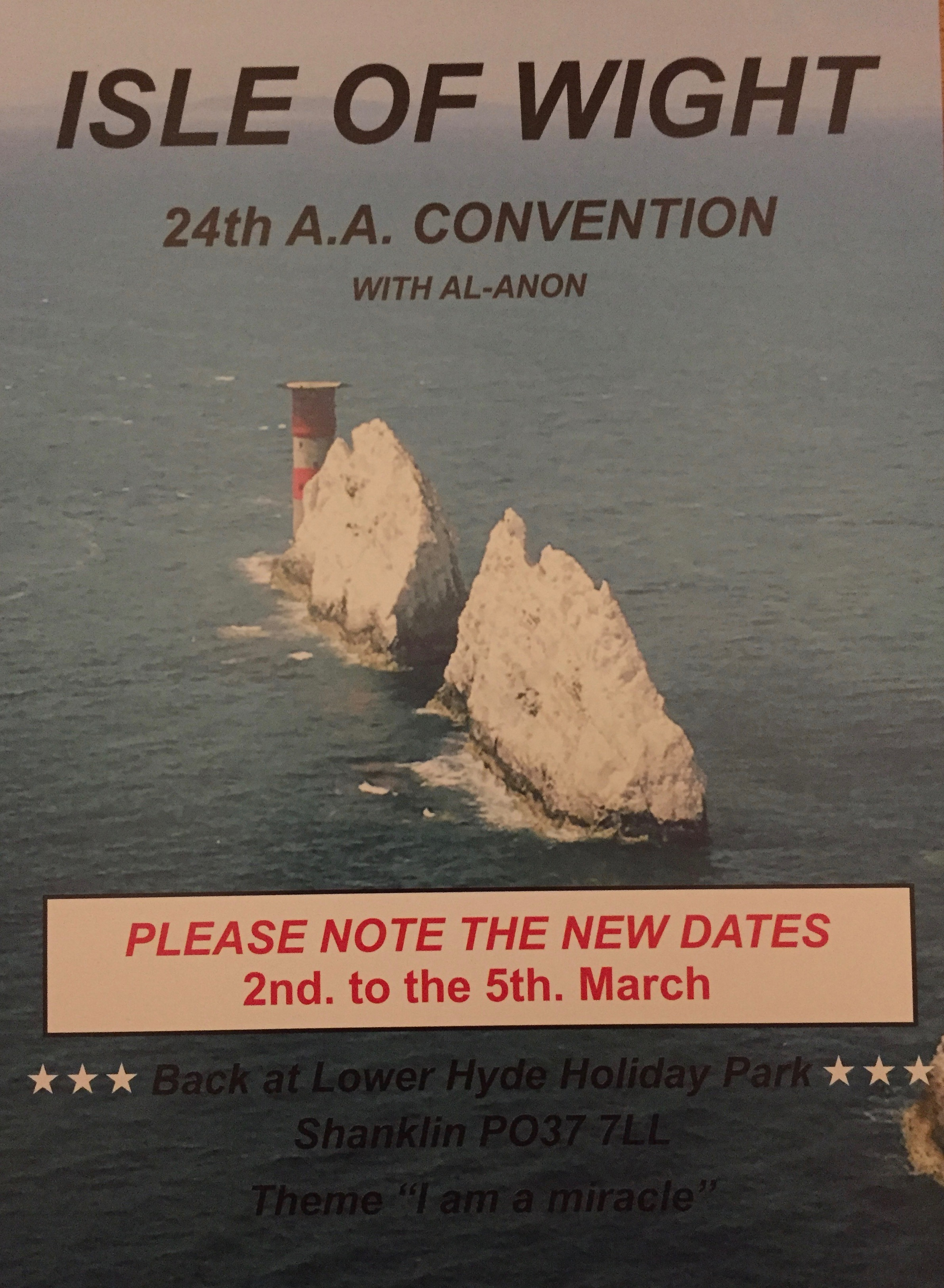 Aa conventions uk
